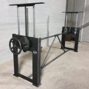 Industrie Design Tischgestell höhenverstellbar DT02 | Vintage-LOS