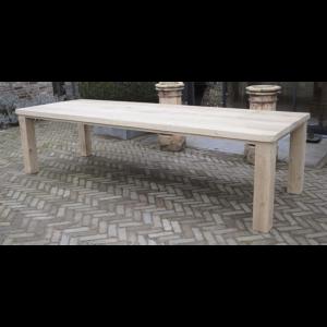 Block-Bein Tisch Eiche - G006