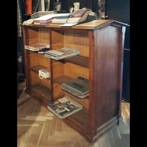 Antiker Bücherschrank, beide seite - A008