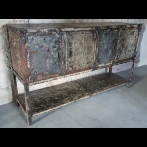 Vintage Schrank aus Stahl IND649