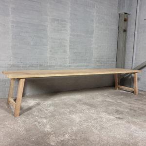 Gartentisch Bato |  Outdoor Tisch aus Hartholz Iroko - T02