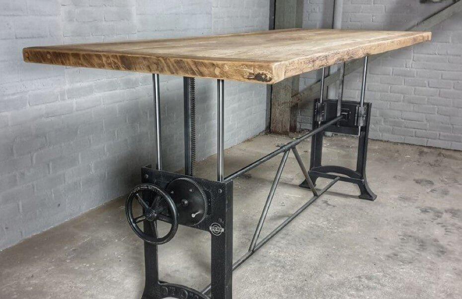 Höhe verstellbare industrie Design Tische